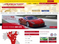 Puresport.es - Conducir en Pista con Puresport: Ferrari, Lamborghini y Fórmula 1