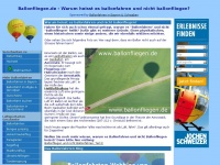 Ballonfliegen.de - Ballonfliegen in Schwaben, Bayern & Deutschland - alle Anbieter!