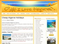 Ilovealgarve.net - Cheap Algarve Holidays - I Love Algarve!