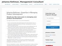 Jrothman.com - Johanna Rothman - Management Consultant - Johanna Rothman, Management Consultant
