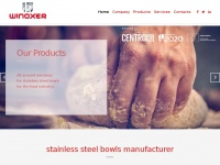 Winoxer.pt - WINOXER – Stainless steel bowls manufacturer