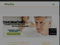 Farmaciasempreviva.com.br - Farmácia Sempre Viva   Manipulação & Homeopatia