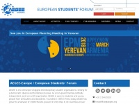 Aegee.org - AEGEE-Europe – European Students' Forum