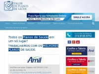 valordeplanosdesaude.com.br