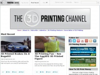 3dprintingchannel.com - 3D Printing Channel Videos 3D Printers Services Technology