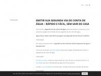 Segunda Via de Conta de Água 2017 - Imprimir 2ª via Atualizada