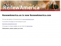 Renewamerica.us - New web address for RenewAmerica