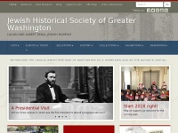 Jhsgw.org - Jewish Historical Society of Greater Washington | Lillian and Albert Small Jewish Museum