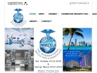 Immexls.com - IMMEXLS The International Medical Marketplace and Expo with Lifesciences Biotechnology, Pharmaceuticals Packaging & Laboratory | Miami Medical Expo | Medical Expo in Florida IMMEXLS