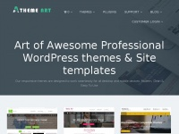 Athemeart.com - Art of Awesome Professional WordPress themes & Site templates - AThemeArt
