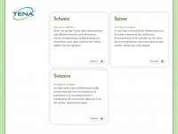 Tena.ch - Gut informiert zu Inkontinenz und Blasenschwäche durch TENA