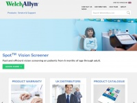 Welchallyn.co.uk - Welch Allyn - United Kingdom