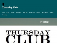Thursday-club.uk - Thursday Club – Curious, Original, Noteworthy