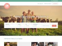 Ohlavache.org - Oh la vache Séjour à la ferme