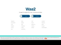 Waa2.co.uk - A Search Engine For Cars, Homes And Jobs