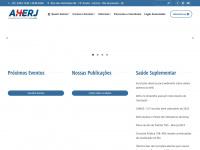 Aherj.com.br - AHERJ – Associação de Hospitais do Rio de Janeiro