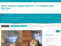 Swiss Replica Omega Watches - 1:1 Omega Fake Watches | vkwatches.co.uk