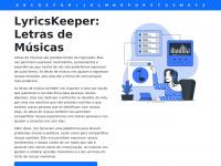 Lyricskeeper.com.br - Letras de músicas | LyricsKeeper