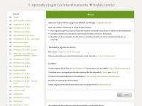 Baduk.com.br - Aprenda a Jogar Go Interativamente (Baduk ou Weiqi)
