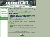 Ntgreek.org - Resources for Learning NT Greek by Corey Keating