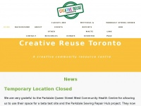 Creativereusetoronto.ca - CREATIVE REUSE TORONTO - Home
